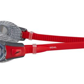 speedo Futura Biofuse Flexiseal Goggle Lava Red/Clear